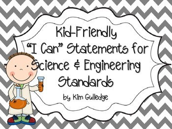 8 Science and Engineering Standards Posters - Next Generation Standards