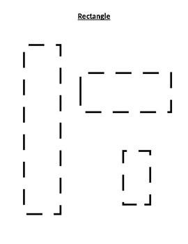 8 Shapes Tracing Sheets