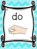 8 Solfege Kodaly Hand Signs Posters/Anchor Charts for your