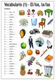 80 Spanish Worksheets for Beginners - Hojas de ejercicios (NO PREP)
