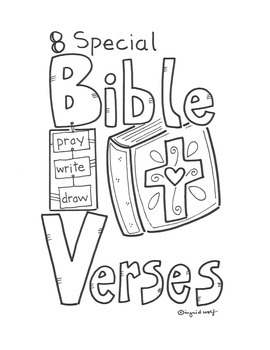 8 Special Bible Verses - Booklet