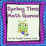 8 Spring Themed Common Core Math Stations