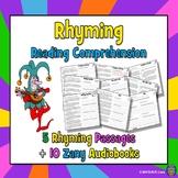 Poetry with Figurative Language - 5 Rhyming Poem AUDIOBOOKS