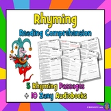 3 Fun Reading Comprehension Passages and Questions: Rhymin