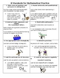 8 Standards for Mathematical Practices