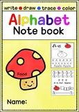 8 Steps Alphabet note (Food ABC order)