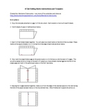 8 Tab Folding Book Template