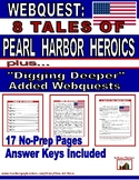 Webquest: 8 Tales of Pearl Harbor Heroics: History Channel