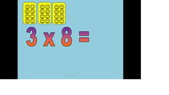 8 Times Tables and Division Package