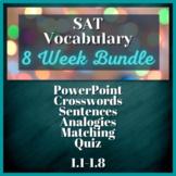 8 WEEK VOCABULARY UNIT - SAT Prep, AP English