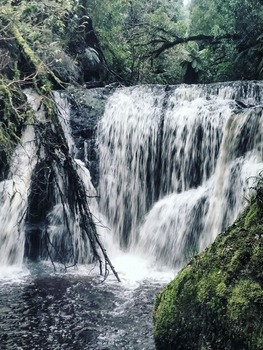 8 Waterfall Photos includes Commercial License