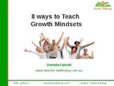 8 Ways to Teach a Growth Mindset