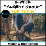 """""""Anxiety Group"""" for Teens in Middle/High School- includes"""
