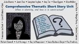 8 Week Short Story Unit: Elements of Fiction & Higher Order Thinking Skills