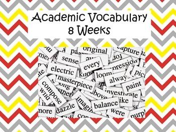 8 Weeks of Academic Vocabulary