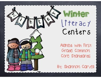 8 Winter Literacy Centers