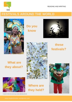 Culture resource: 8 international festivals and holidays reading and writing