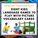 8 language games to play with a deck of picture vocabulary cards