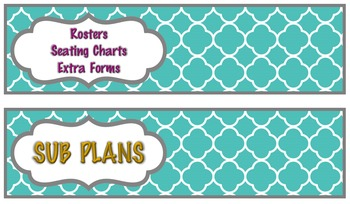 8 or 10  Drawer Rolling Cart Labels