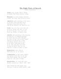 8 parts of speech (poem)