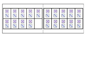 8's Subitizing Multiplication Flashcards