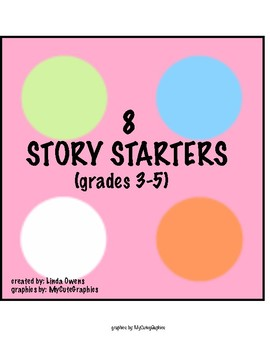 8 story starters for 3-5th graders