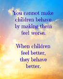 8 x 10  Classroom Management Poster Motivation Character Ed Effort