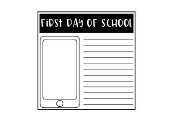 8 x 8 School Days Memory Book