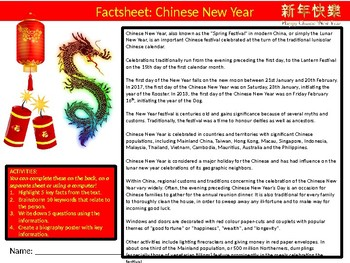 8 x Chinese New Year Starter Activities Keywords Wordsearch Crossword Countries