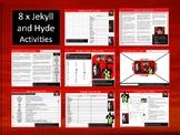 8 x Jekyll & Hyde Starter Activities Wordsearch Crossword English Literature