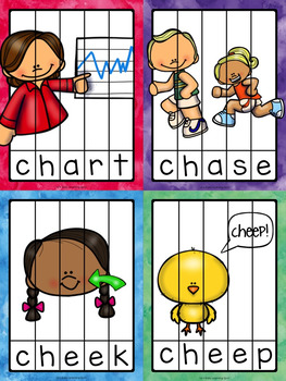 80 Digraph Word Puzzles: CH, SH and TH