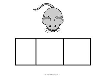 80+ Elkonin Picture Boxes Phonemic awareness cards. 3- 7 sounds to segment