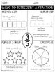 Fraction Printables (CCSS Aligned)