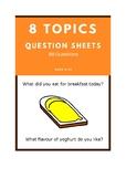 80 Kids ESL Questions - 8 Fun Topics
