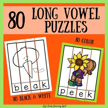 80 Long Vowel Puzzles