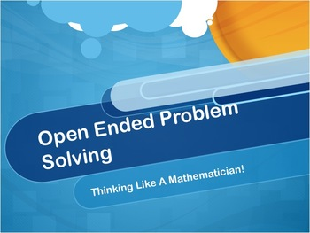 80+ Open Ended Mathematics Activities and Investigations