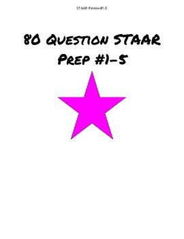 80 Question STAAR Bundle