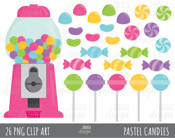 80% SALE CANDY clipart, bubble gum clipart, pink candies clipart