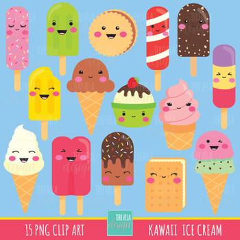 50% SALE ICE CREAM clipart, ice cream graphics, kawaii ice cream clipart