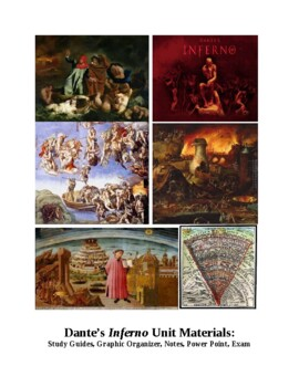 80-question Dante's Inferno Exam with key