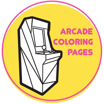 80's Arcade coloring pages