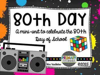 80's Theme Unit (80's Day)