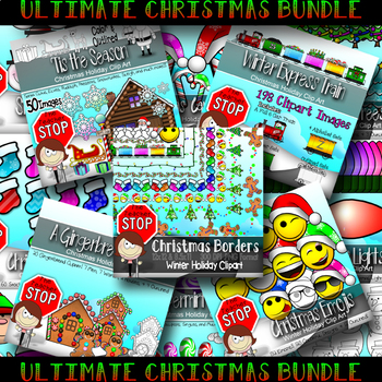 CHRISTMAS CLIPART BUNDLE {The Teacher Stop}