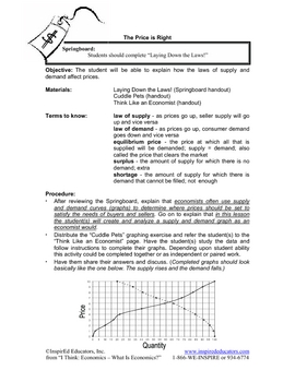 8101-8 How Supply and Demand Determine Prices