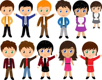 82 PNG Files- Office Set & Office People ClipArt- Digital Clip Art - 300 dpi 112
