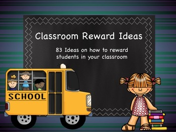 83 Free or Inexpensive Rewards for Individual Students