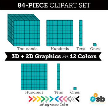 Free Base Ten Blocks Clipart, Download Free Clip Art, Free Clip Art on  Clipart Library