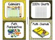84 Math Manipulative Labels {Bee Theme}