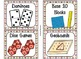 84 Math Manipulative Labels {Owl Theme}
