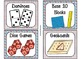 84 Math Manipulative Labels {Seuss Inspired}